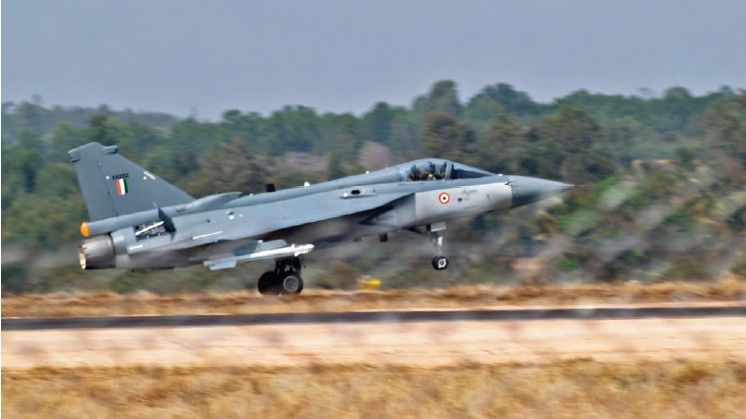 Tejas (light combat aircraft) is one of the indigenous development programmes undertaken by HAL