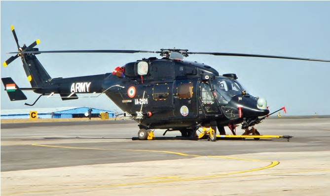 HAL will showcase its helicopter, Rudra, at Paris Air Show 2015