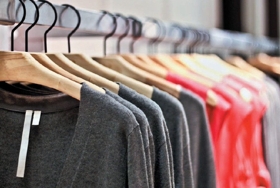 In the current year, exports of apparel paints a positive image