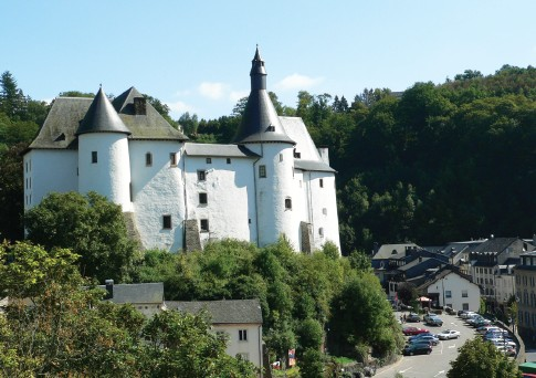Clervaux Castle on the Cleve river
