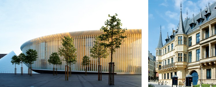 Enjoy the music and culture of Luxembourg at Philharmonie Grand Ducal Palace of Luxembourg