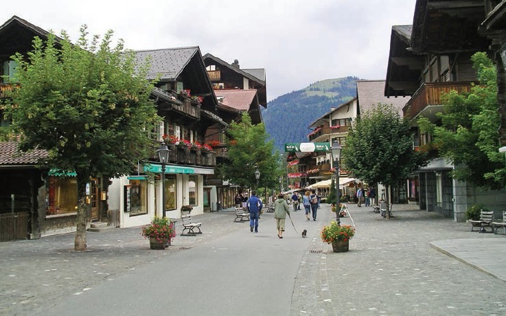 Gstaad is renowned as 'romantic haven' for globe trotters across the world