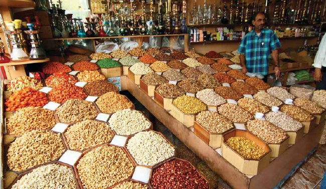 Dry fruits and spices shopping at old Gold Souk market brings heritage flavour to the shopping experience