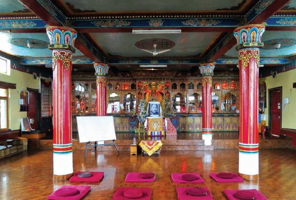 Explore the benefits of meditation at Kopan Monastery