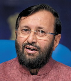 Prakash Javadekar, Minister of State for Environment, Forest and Climate Change, India