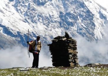 Wandern im Himalaya allein!