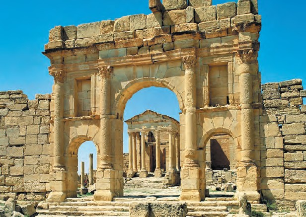 Roman ruins of Carthage are worth a sightseeing trip