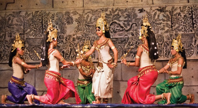 No visit to Cambodia is complete without attending its traditional dance - Apsara Khmer