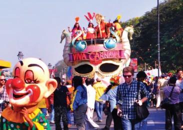 Karnevalsgesänge in Goa