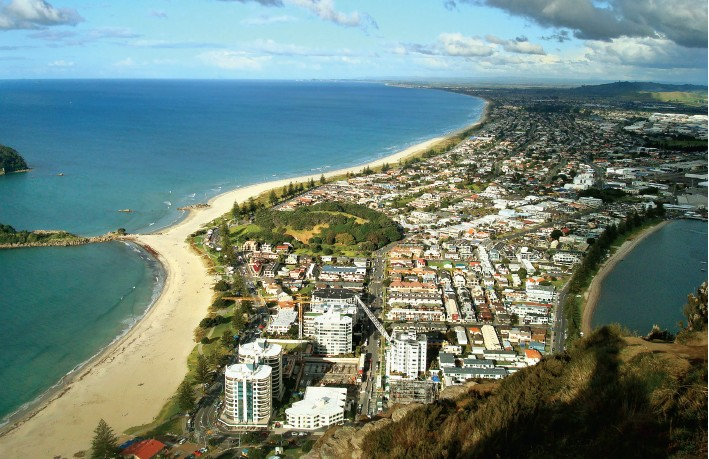 The sunny city of Tauranga will tempt you with marine adventures