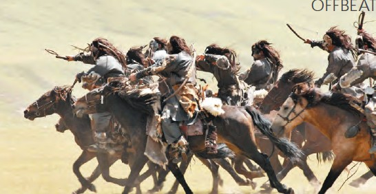 under the leadership of Genghis Khan, the Mongols were seen as terrifying battle tacticians