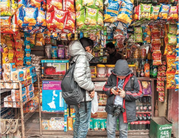 The emergence of online players in grocery business could be the failure of the organised sector to take a significant part of the market