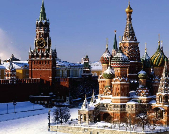 Red Square, Moscow is the heart and soul of Russia