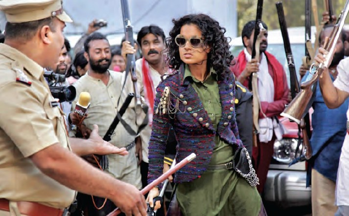 Kangana acted as a game changer in 2014. Revolver Rani was her second women-centric movie, after Queen