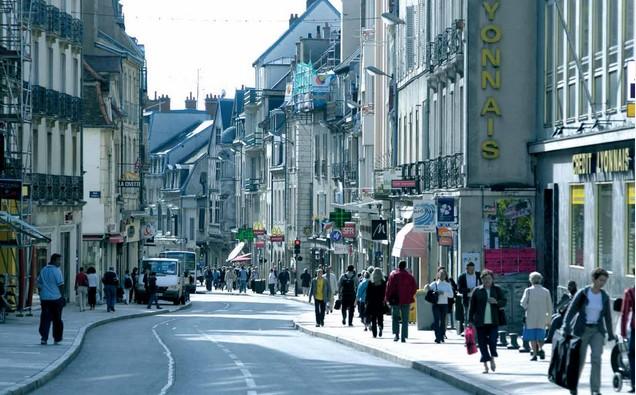 Dijon, Rue de la Liberté - the main shopping street