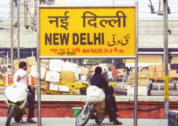 One day at the New Delhi Station