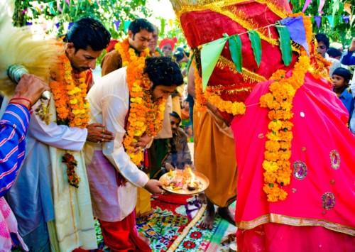 Dussehra fest in New Delhi