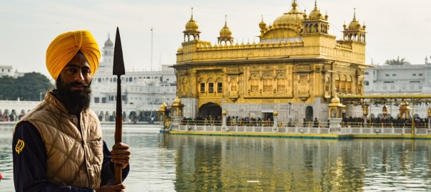 These Holy Guards are known as Sewadars at all Sikh Gurudwaras (temples)