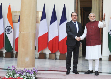 Hollande's Visit to India