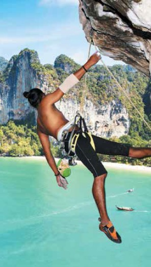Krabi gives a shoutout to the adventurer inside you
