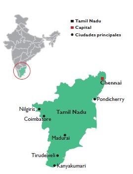 Kanyakumari el lugar donde acaba la India
