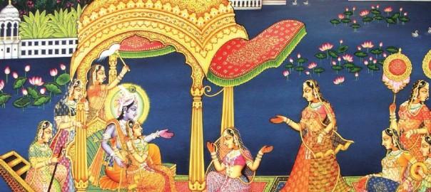 Krishna et la peinture Pichwai