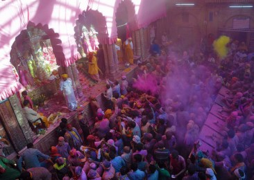 Holi in Mathura and Vrindavan
