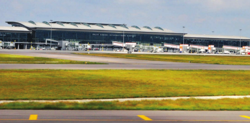 Hyderabad Airport commissioned 5MW solar power plant for captive utilisation of clean energy