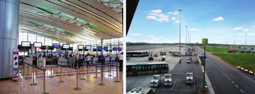 PPP model has successfully delivered the required boost to the Rajiv Gandhi International Airport, Hyderabad