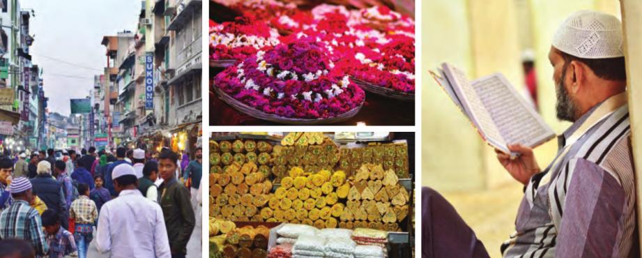 Der Ajmer Sharif Dargah ist ein Schmuckstück der Stadt Ajmer. Eine kunterbunte Mischung an Religionen kommt hierher, um den Segen des Khwaja zu erhalten, denn es ist nicht nur für Muslime, sondern auch für Menschen anderen Glaubens ein heiliger Ort.
