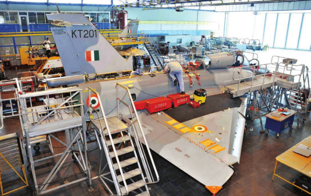 MRO, Waiting for Wings in India