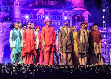 'Rajasthani' Fashion Show