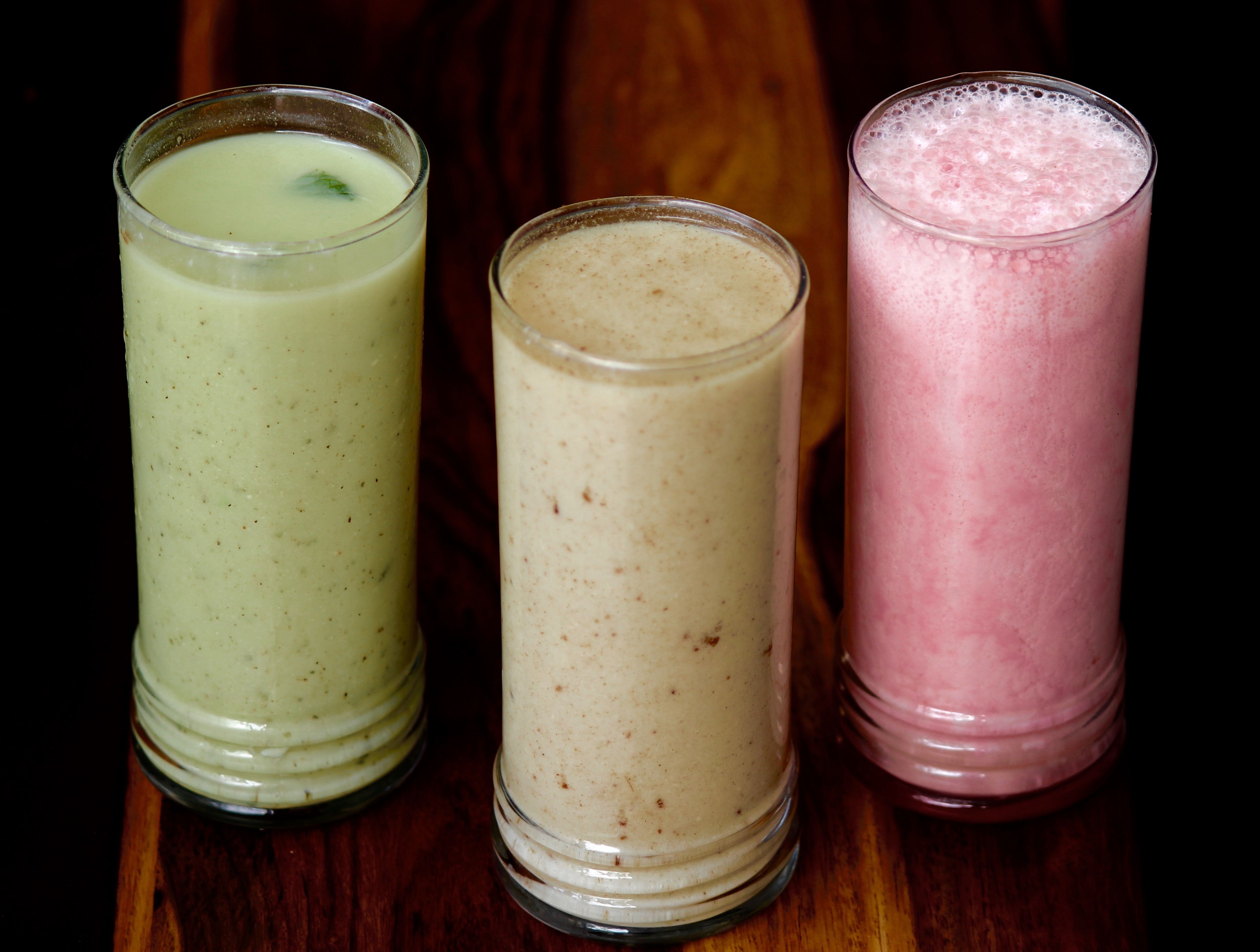 Lassi in different Flavours.
