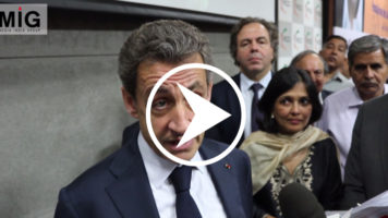 Sarkozy in New Delhi