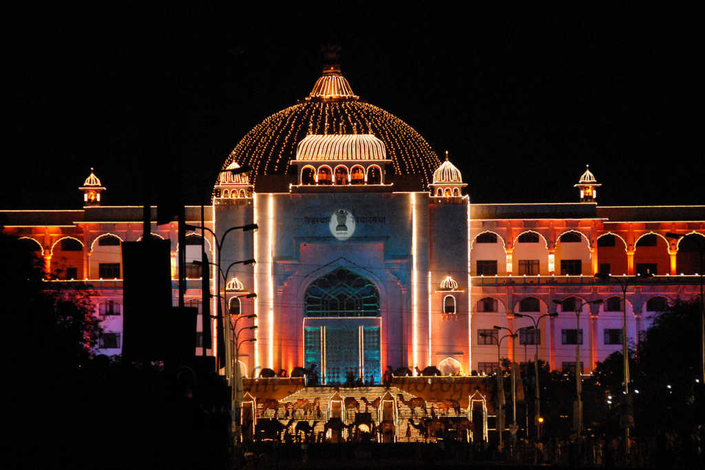 The state of Rajasthan celebrated its 67th foundation day with pride, showcasing their art and culture