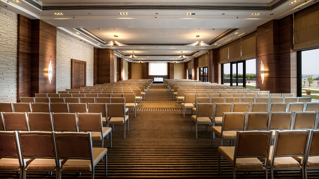 Hyatt ballroom with a pillar less, meeting space - one of the most promising MICE hotels in Raipur, in the state of Chhattisgarh