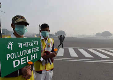Growing Pollution in New Delhi