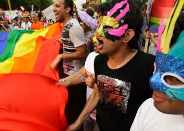 Delhi Diplomats send gay message