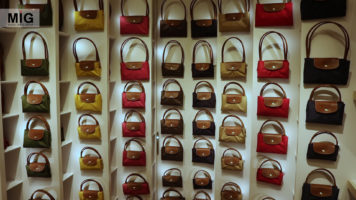 French luxury brand Longchamp opened its first store in New Delhi