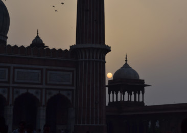 Special Indian style of Eid in Delhi
