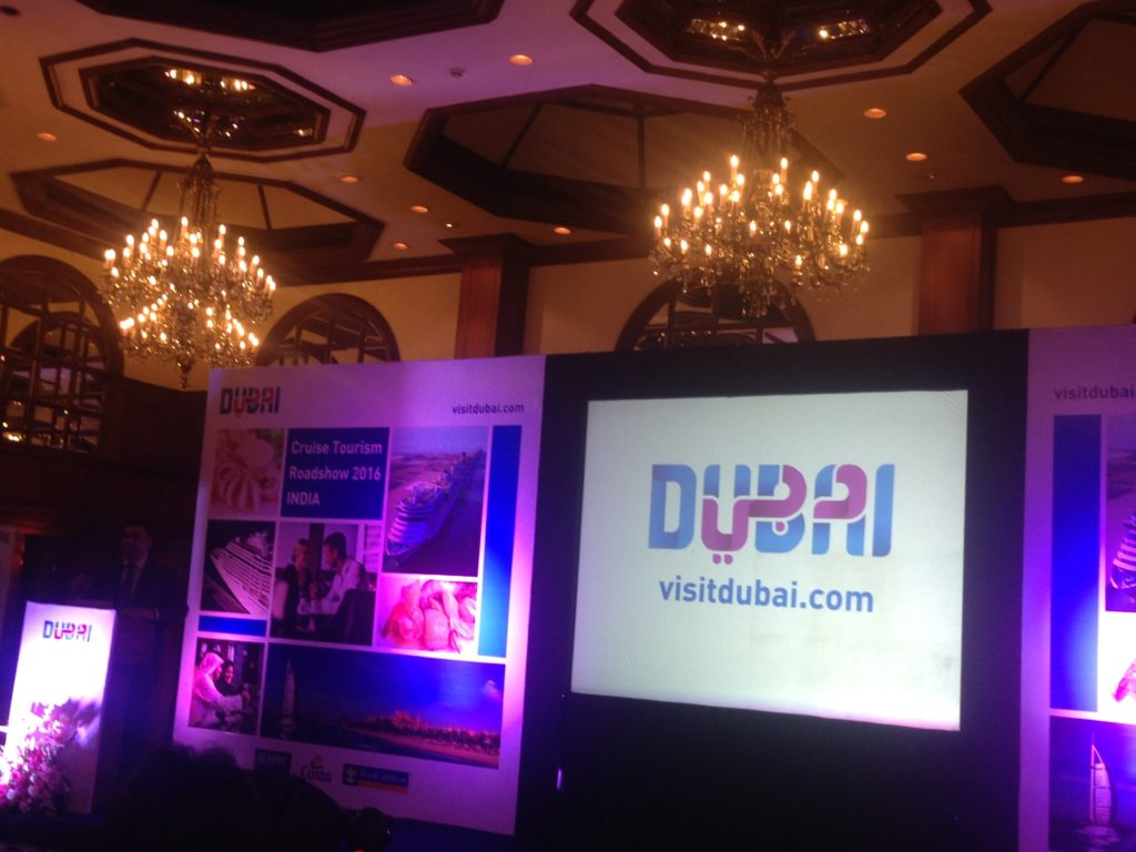 Dubai Cruise Tourism Roadshow, Kolkata 2016