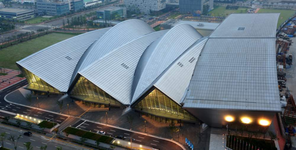 Songdo Convensia Convention Center in South Korea