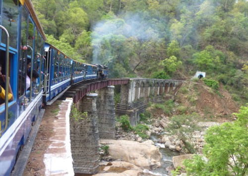 Chamba : Shades of green, blue and white