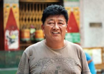 Les réfugiés tibétains