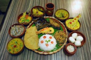 Bengali Food : Rice and Fish ?