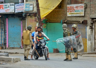 Kashmir remains the flash point between India and Pakistan