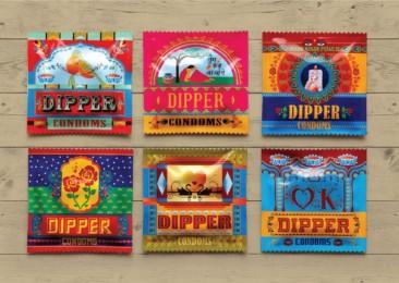 Truck art inspires Tata Motor's Dipper condoms' packaging in India