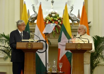 Myanmar President Htin Kyaw's first State visit to India