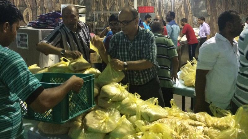 15,475 kilograms of food was provided to the affected by the Indian office in Jeddah