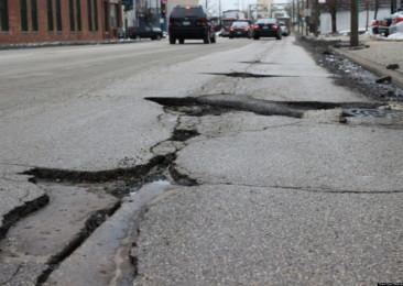 Poor road infrastructure